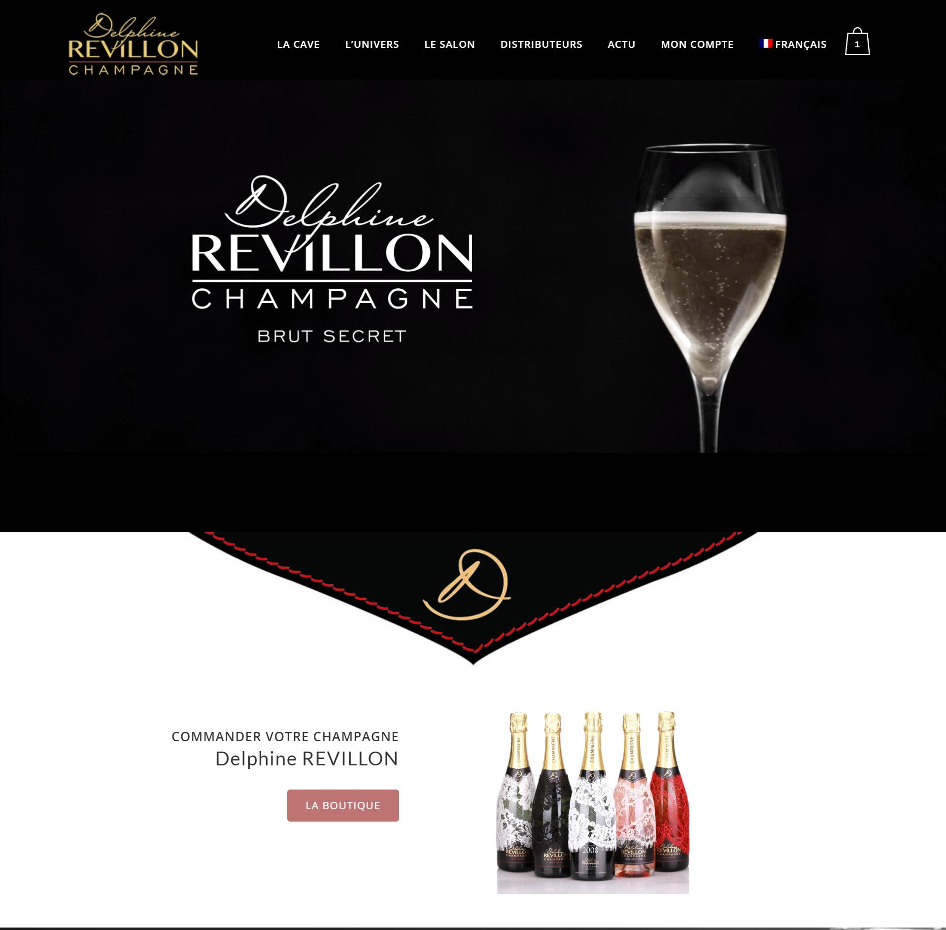 Site web Delphine Revillon