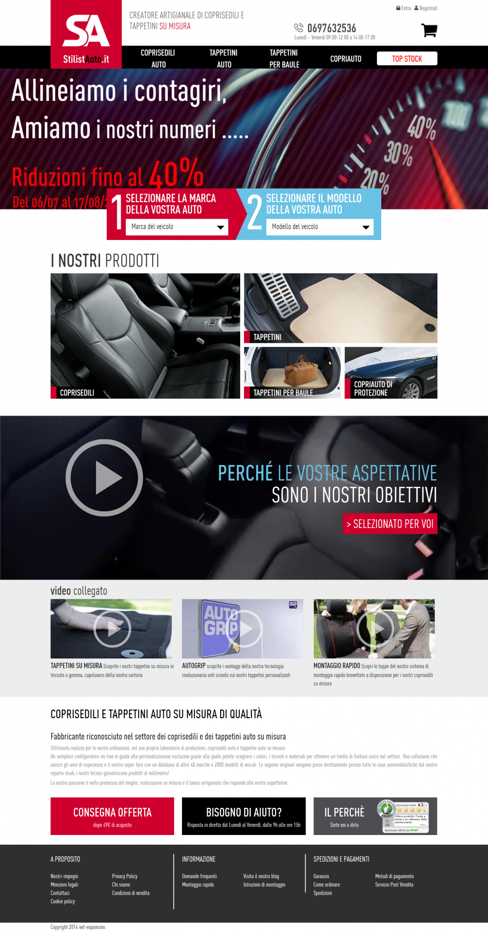 Site web Tailleur Auto