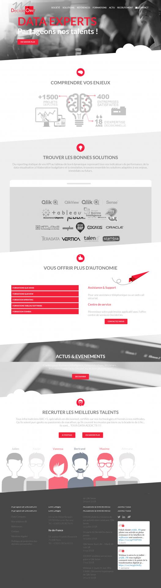Site web Décidéom