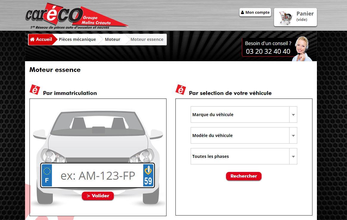 Site web Caréco