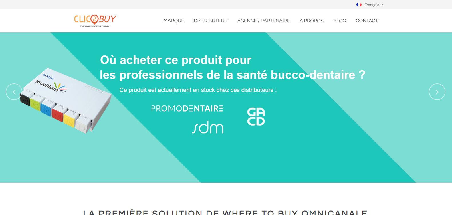 Site web ClicBuy