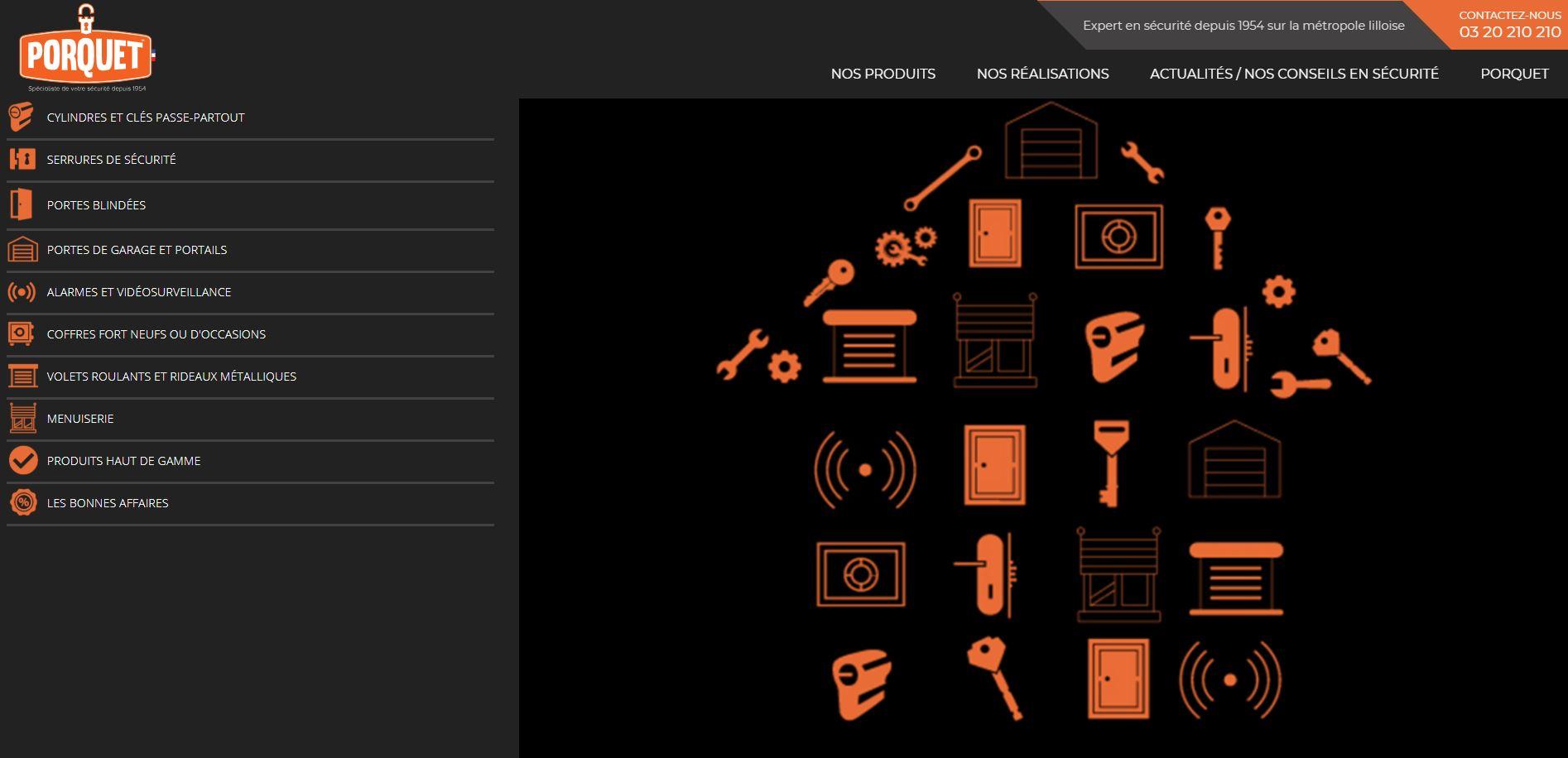 Site web Porquet