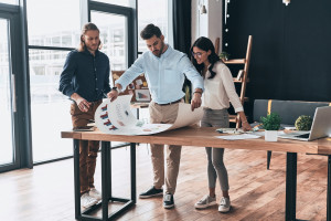 stratégie web réunion d'équipe