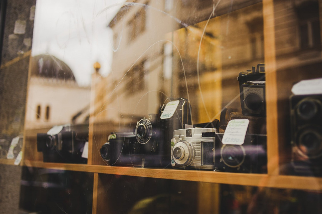 vitrine d'un magasin pour illustrer qu'est-ce qu'un site vitrine