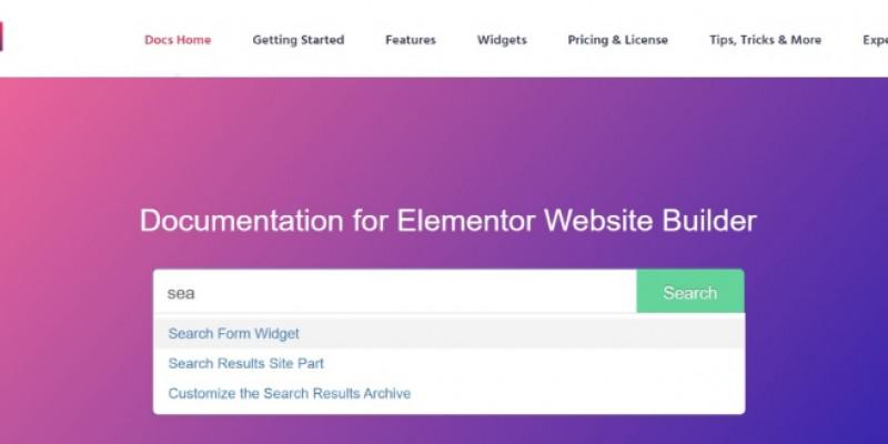 search_elementor